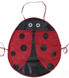 Red Ladybird Children's Apron